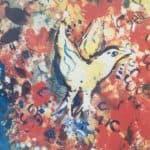 Gelber Vogel sucht Nähe