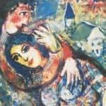Nähe und Vertrautheit, Liebespaar impressionistisch