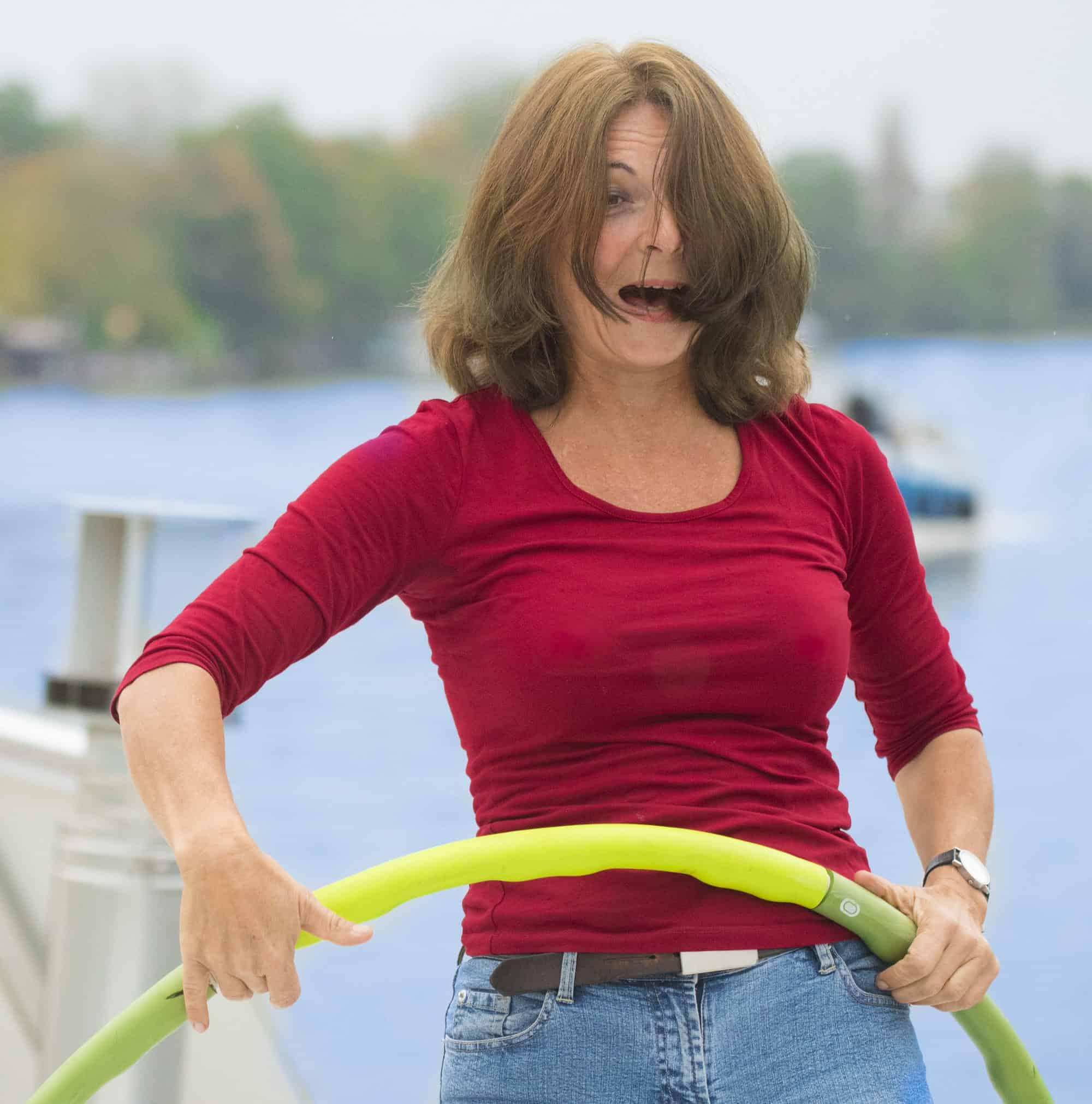 Online - Kurse zu Hula Hoop gibt es leider noch nicht