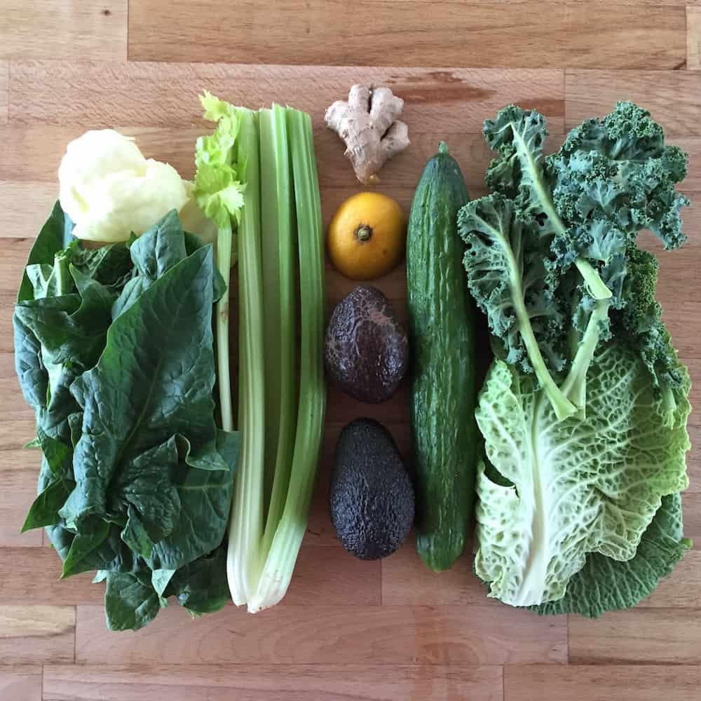 Grüne Smoothies - die Zutaten