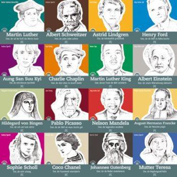 Klügster Adventskalender der Welt - 24 + 1 inspirierende Biographe von Menschen, die die Welt verändert haben. Vorbilder, die inspirieren - nicht nur zu Advent und Weihnachten,