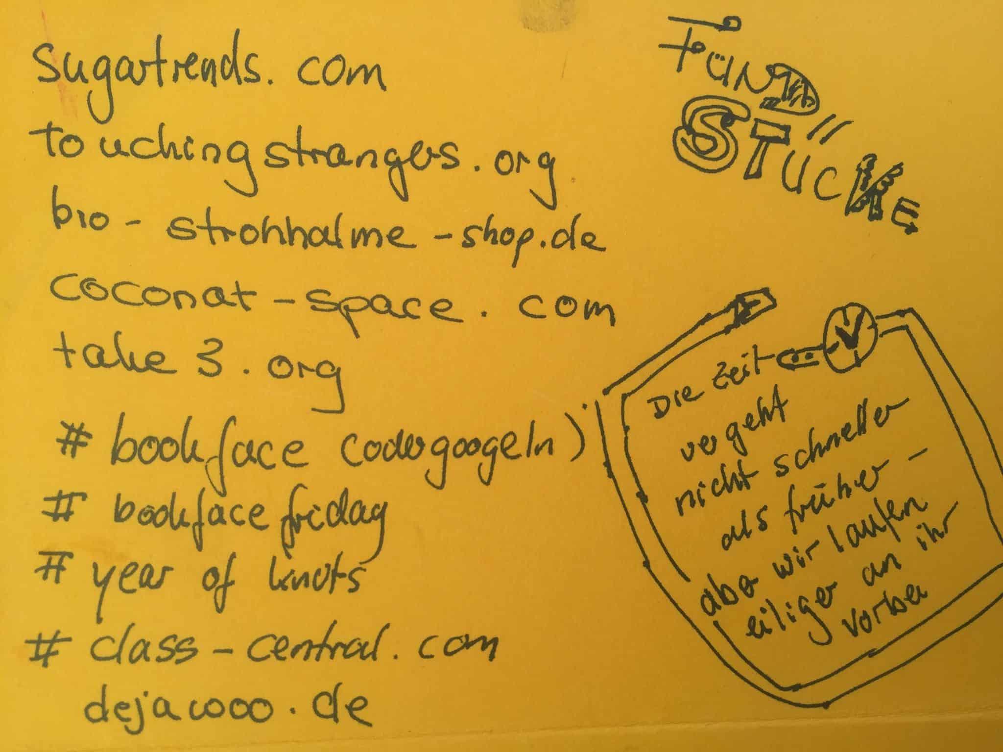 Fundstücke - Inspiration für eine Freundin, die es liebt, echte Post zu bekommen.Von Kerstin Hack