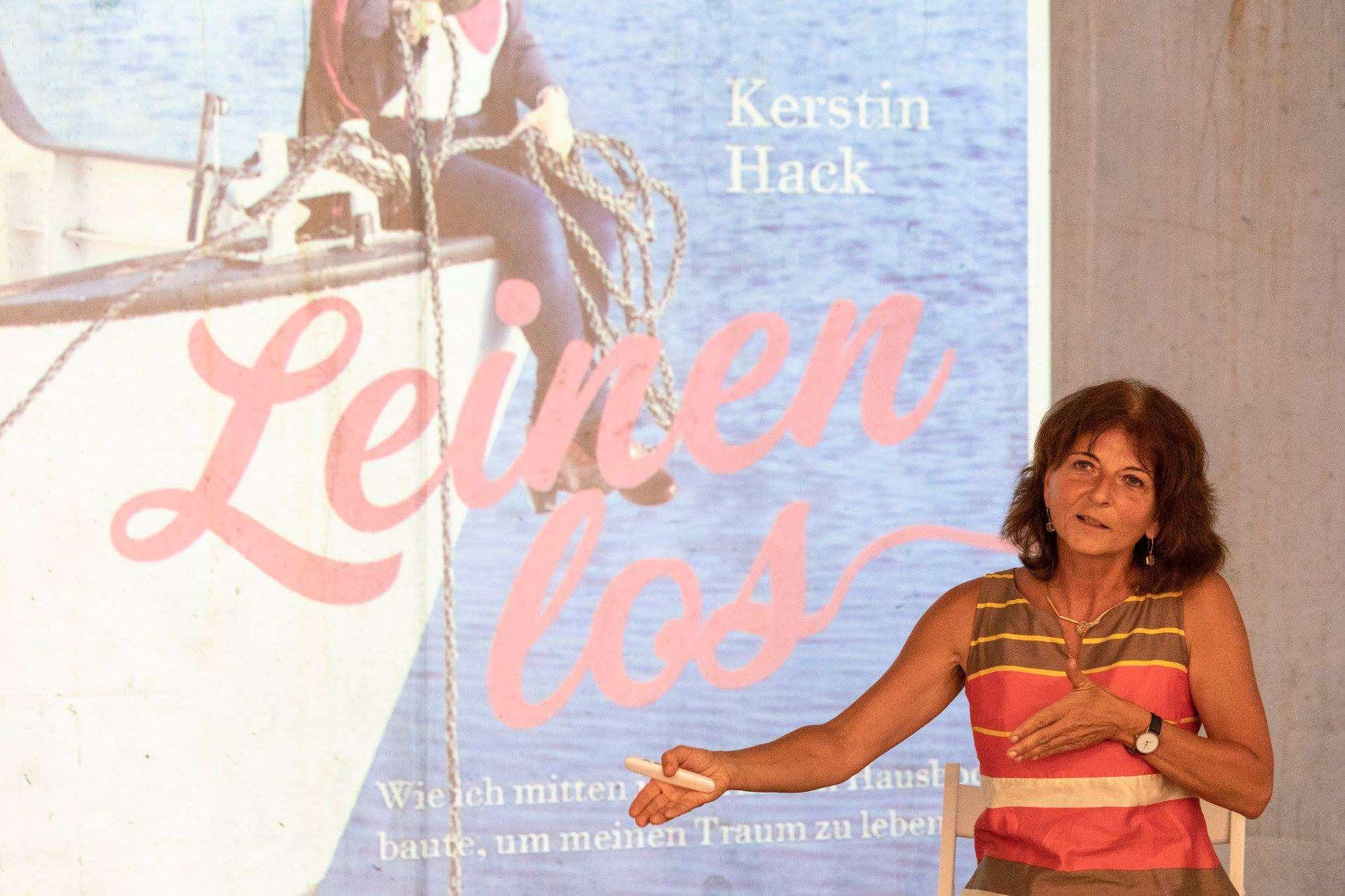 """Kerstin Hack erzählt über ihr Buch """"Leinen los"""""""