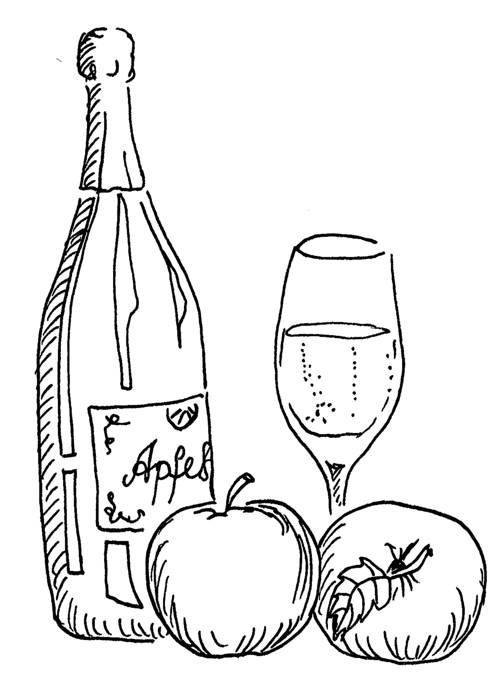 Trinke Apfelsekt jetzt, warte nicht auf bessere Zeiten - ein Impuls von Kerstin Hack
