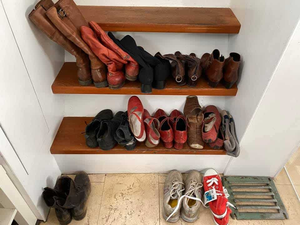 Kleiderschrank-Challenge Schuhe