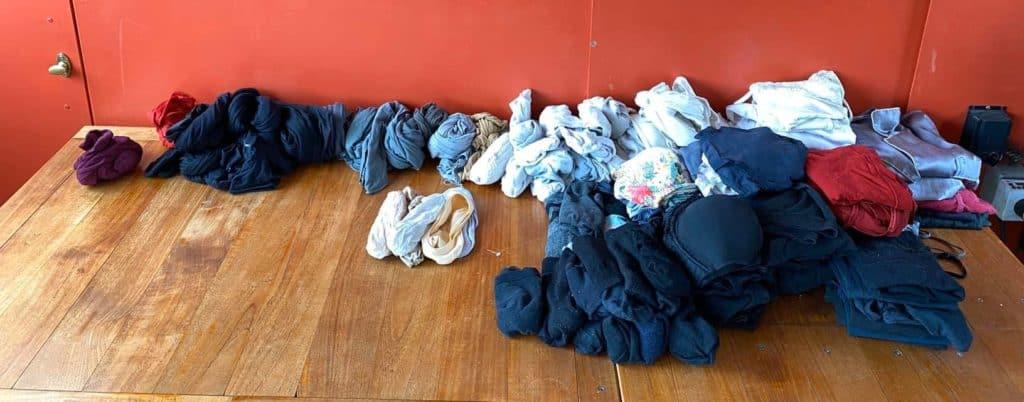 Kleiderschrank-Challenge nachher