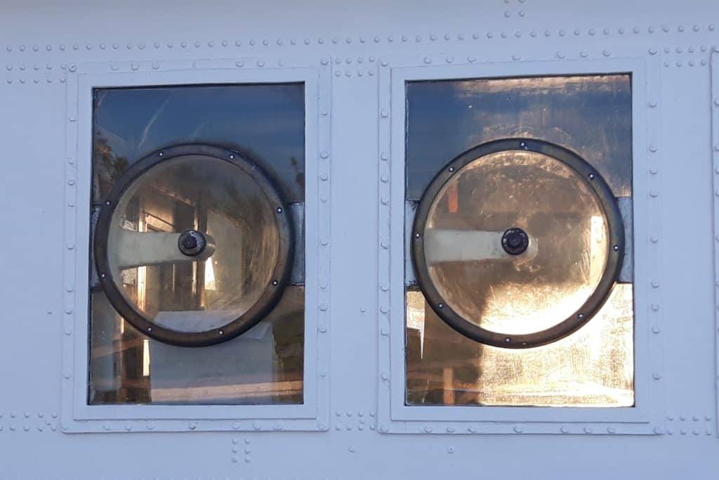 Fenster am Schiff